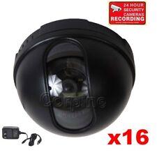 16x Security Cameras Color CCD Wide Angle Len for DVR CCTV Surveillance Home CF7