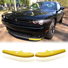 Fits For 15-20 Dodge Challenger Scat Pack Front Bumper Lip Splitter Protector US