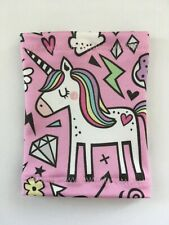 Lycra PICC Line or Freestyle Libre Cover - Unicorn