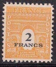 FRANCE TIMBRE NEUF N° 709 *  ARC DE TRIOMPHE