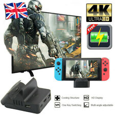 Cooling For Nintendo Switch NS HDMI 4K Adapter TV Charger Charging Dock Stand