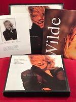 """KIM WILDE It's Here 1990 UK  7"""" vinyl single BOX SET EXCELLENT CONDITION 45"""