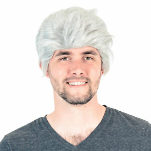 Adult Deluxe Late Night Talk Show Host Wig Costume Accessory