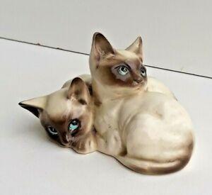 Vintage Retired Royal Doulton 'Siamese Kittens' DA 122 (B. #1296) Very Cute