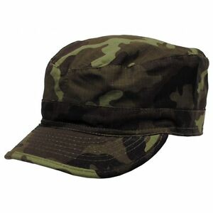 BDU Field Cap M95 CZ Army Camo Pattern - Rip Stop - Brand New - All Sizes