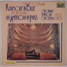 GERSHWIN: Rhapsody in Blue, Eugene List, Kunzel TELARC DG Audiophile LP NM