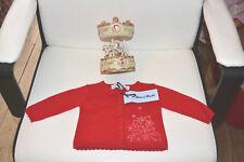 veste neuve tartine et chocolat 3 mois rouge 20% ANGORA nouveaute