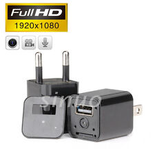 HD 1080P Spy USB Wall Charger Camera Mini AC Plug Adapter Nanny Pen Camcorder DV