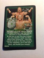 WWE RAW Deal D-GENERATION X Superstar Promo Card PR WWF DX HHH Michaels
