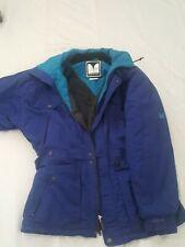 90s Couloir Anorak Snow Ski Jacket Blue Size 40 M-L