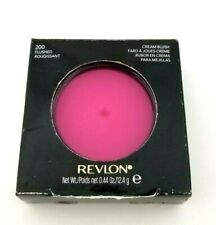 Revlon Cream Blush #200 Flushed New in Box Color is Bright Pink Ships in 1 Day