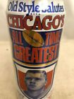 Old Style Chicago All Time Greatest Mike Ditka empty collector beer can