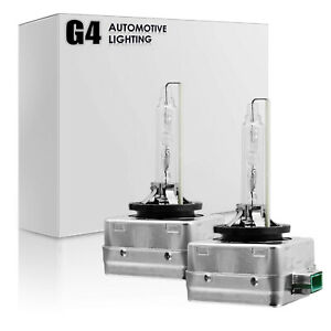 G4 AUTOMOTIVE 2x D3S HID Bulbs AC 35W OEM Xenon Headlight Replacement All Color