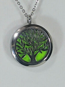 """18"""" Necklace-""""Tree of Life"""" Aromatherapy Diffuser & Lavender Essential Oil"""
