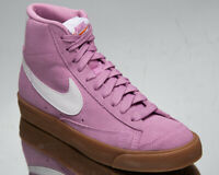 Nike Blazer Mid '77 Suede Women's Beyond Pink White Lifestyle Sneakers Shoes