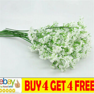 Artificial Baby's Breath Gypsophila Fake Flowers Bouquet Home Party Gift Decma