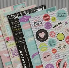 Beautiful Sticker Book Notes Phrases for Books -2 Pcs ANY RANDOM