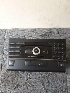 MERCEDES E-CLASS W212 W207 HEAD STEREO RADIO CD PLAYER CONTROL UNIT - 2129008304