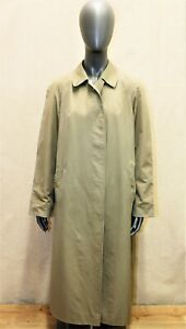 Trench Imperméable BURBERRY'S vintage 70 kaki clair 16 reg 44 FR made in England