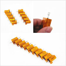 10 X Car Truck Load Resistor 25W 8Ω Fix LED Bulb Hyper Flash Turn Signal Blinker