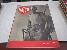 REVUE MAGAZINE MATCH 11 AVRIL 1940 LE REGIMENT DE LA NEIGE *