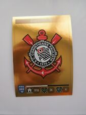 FIFA 365 PANINI 2016 - Figurine Sticker - num 161  -   Badge Corinthians