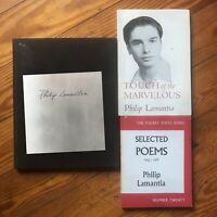 Autographed Signed Philip Lamantia Vintage Lot Of 3 Poetry Beat Kerouac Bukowski