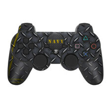 Sony PS3 Controller Skin - Navy Diamond Plate by US Navy - DecalGirl Decal