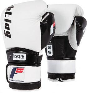 Fighting Sports S2 Gel Boxing Power Sparring Gloves - White/Black