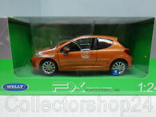 Welly : Peugeot 207, orange 2009 , 1:24