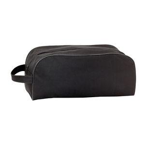 Black Sports Football Boot / Walking / Golf Shoe Bag - Footwear Storage Holdall