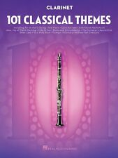 101 Classical Themes for Clarinet Instrumental Solo Book NEW 000155317