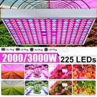 AUGIENB 3000W LED Grow Light Hydroponic Full Spectrum Indoor Lamp Panel  Z-1