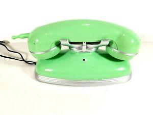 Pottery Barn Grand Cordless Phone Retro Touch Tone Jade Green 841.594