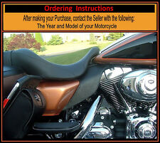Harley Saddle Shield Touring Tri-Glide Mid Frame HEAT Air Deflectors USA Made