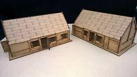 Large Cottages x2 terrain warhammer AOS 28mm wargames wargaming building sigmar