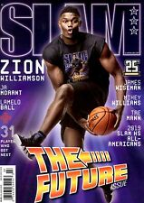 Slam Magazine #222 July August 2019 basketball Future Issue ZION WILLIAMSON