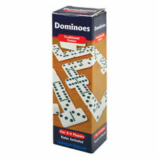 Traditional Dominoes Game - Double Six with brass tacks