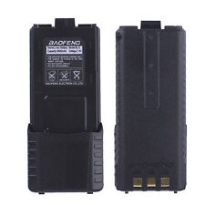 2X Spare Extended Battery 3800mAh For BAOFENG 5R UV-5RE BF-F9 2 Way Radio CA