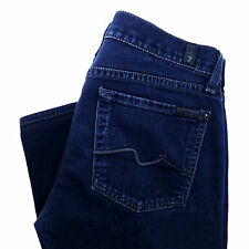 7 SEVEN FOR ALL MANKIND Womens Jeans Size 27 Straight Leg ROXANNE 27 X 32