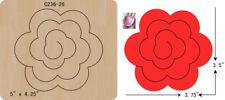 New Flowers  Wooden die fit Big Shot  Scrapbooking C-236-26