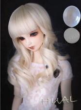 8-9-10 1/3 BJD Long Light Blonde Curly Wig LUTS Doll SD DZ DOD MSD Soom Hair AL
