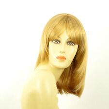 Perruque femme mi-longue blond clair doré EDITH LG26