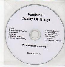 (DQ220) Fanthrash, Duality of Things - DJ CD