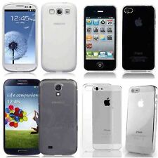 iPhone and Samsung crystal clear ultra thin hard case job lot wholesale x 100