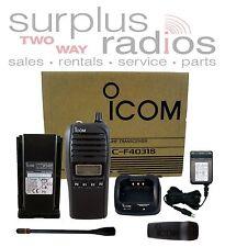 ICOM F4031S 73 BC-171 RADIO 128CH 4W UHF 450-512MHZ LONG RANGE FIRE AUSSIE CB