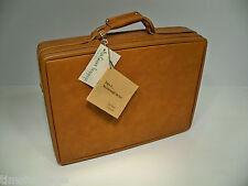 "Hartmann Vinyl 5"" Attache w/ Fan File Briefcase (NOT Belting Leather) NEW"