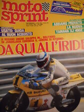 Motosprint 23 1983 Test Tamaha XJ 400Z - Freddie Spencer Kenny Roberts [SC.31]