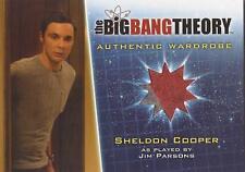 """Big Bang Theory Season 5 - M14 RED VARIANT """"Sheldon"""" Wardrobe Card"""