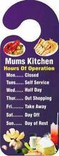 Kitchen Rectangle Decorative Indoor Signs/Plaques